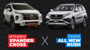 Xpander Cross VS All New Rush, Mana yang Dipilih Netizen?