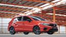 GALERI: Honda City Hatchback Indonesia 2021 (14 FOTO)