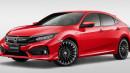 Honda Civic Turbo Hatchback Jadi Sangar Berkat Mugen