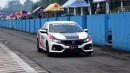 Honda Civic Turbo Hatchback Kawal Balap Motor Paling Bergengsi di Indonesia