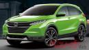 Next Gen Honda HR-V Berbodi Lebih Panjang.