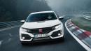 Honda Civic Type R 2017 Pecahkan Rekor Nurburgring