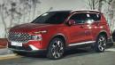 Penampakan Nyata Hyundai Santa Fe Facelift