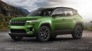 Jeep Akan Gunakan Plaftorm Prancis Untuk SUV Barunya