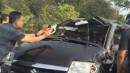 Polisi Jerman 'Shock Theraphy' Orang yang Foto Kecelakaan