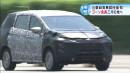 SPY SHOT: Mitsubishi XM 2017 Sudah Dites di Jepang!
