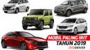 Mobil Paling Irit BBM Versi OtoDriver Tahun 2019