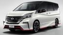 Nissan Serena Nismo Mulai Dijual di Jepang