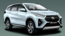 Seperti Inikah Toyota Rush Facelift?