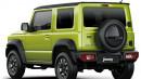 Beberapa Desain Lawas Dipertahankan di Suzuki Jimny Generasi Terbaru