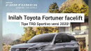 Brosur Toyota Fortuner Facelift Versi Indonesia Bocor!