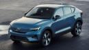 Simak Bocoran Crossover Full Listrik Pertama Volvo Yang Diproduksi Tahun Ini