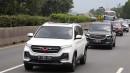 Hasil Konsumsi BBM Wuling Almaz Rute Bandung-Ciamis
