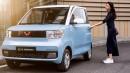 Mobil Listrik Wuling Berukuran Mini Telah Dipasarkan di Cina Seharga Rp 60 Jutaan, Masuk Indonesia?