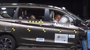 VIDEO: Crash Test Suzuki Ertiga 2019 (ASEAN NCAP)