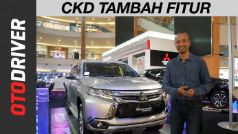 VIDEO: Mitsubishi Pajero Sport Exceed 4x2 CKD 2018 | First Impression Indonesia | OtoDriver