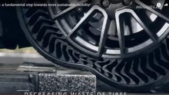 VIDEO: Cara Kerja Ban Tanpa Angin Michelin