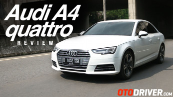 VIDEO: Audi A4 quattro 2016 Review | OtoDriver