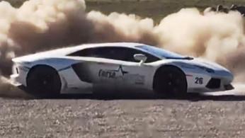 VIDEO : Walah, Lamborghini Aventador Ini Digeber Di Gravel Ala WRC