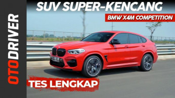 VIDEO: BMW X4M Competition Review Indonesia