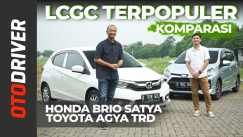 VIDEO: Honda Brio Satya vs Toyota Agya TRD 2020