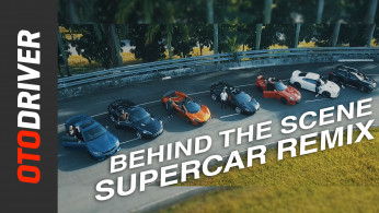 VIDEO: SUPERCAR Remix + Behind The Scene | OtoDriver | Feat. Eka Gustiwana