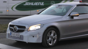 VIDEO: Pengetesan Mercedes-Benz C-Class Cabriolet Atap Kanvas