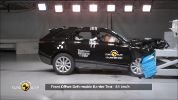VIDEO: Crash Test Range Rover Velar (Euro NCAP)