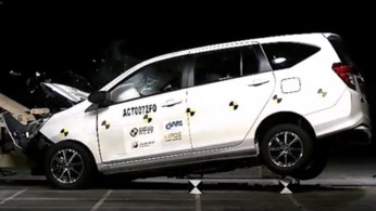 VIDEO: Crash Test Toyota Calya 2016
