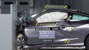 VIDEO: Crash Test Honda Civic 2016