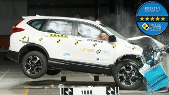 VIDEO: Crash Test Honda CR-V Turbo 2017 (ASEAN NCAP)