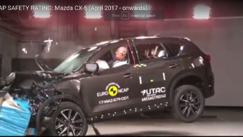 VIDEO: Crash Test Mazda CX-5 2017