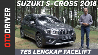 VIDEO: Suzuki S-Cross Facelift 2018 Review | OtoDriver