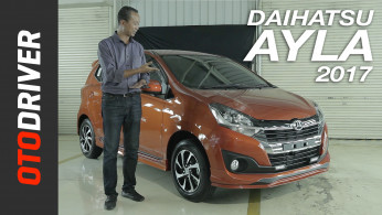 VIDEO: Daihatsu Ayla 2017 First Impression Review Indonesia | OtoDriver