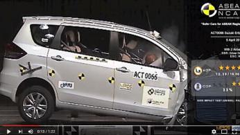 VIDEO: Crash Test Suzuki Ciaz dan Ertiga
