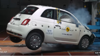 VIDEO: Crash Test Fiat 500 2017 (EURO NCAP)