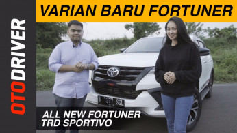 VIDEO: Review Toyota Fortuner TRD Sportivo | OtoDriver