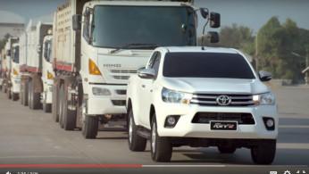 Video: Performa Toyota Hilux Mampu Menarik Bobot Setara 18 Gajah Afrika!