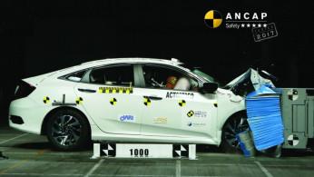VIDEO: Crash Test Honda Civic Turbo Sedan (ANCAP)