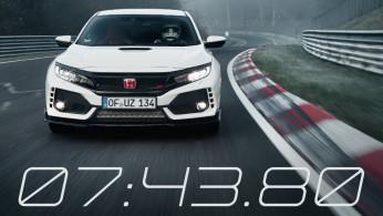 VIDEO: Honda Civic Type R 2017 Saat Catat Rekor Di Sirkuit Nurburgring