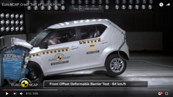 VIDEO: Crash Test Suzuki Ignis (Euro NCAP)