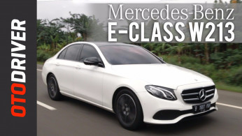 VIDEO: Mercedes-Benz E-Class 2017 Review Indonesia |OtoDriver