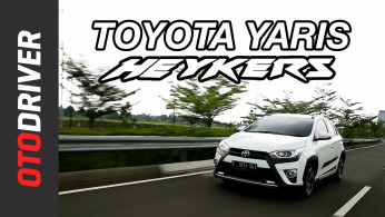 VIDEO: Toyota Yaris Heykers 2017 Review | OtoDriver