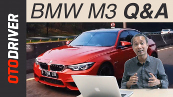 VIDEO: BMW M3 2017 Questions and Answers | OtoDriver