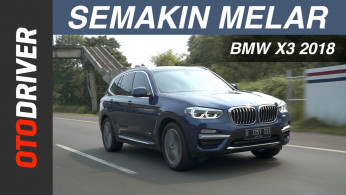 VIDEO: BMW X3 2018 Review Indonesia | OtoDriver | Supported by GIIAS 2018