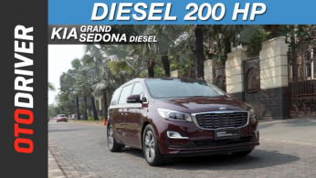 VIDEO: KIA Grand Sedona Diesel 2018 | First Drive | OtoDriver | Supported by GIIAS 2018