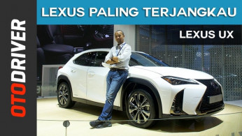 VIDEO: Lexus UX 2018 | First Impression | OtoDriver | Supported by GIIAS 2018