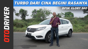 VIDEO: DFSK Glory 580 2018 Review Indonesia | OtoDriver