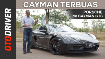 VIDEO: Porsche 718 Cayman GTS 2018 Review Indonesia | OtoDriver