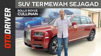 VIDEO: Rolls Royce Cullinan 2018 | First Impression | OtoDriver